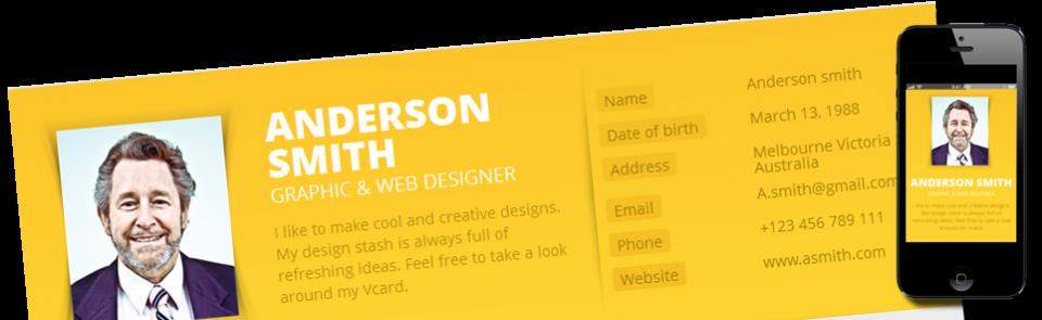 Uw online visitekaartje met cv professioneel & snel